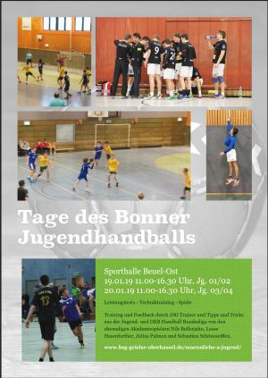 tag bonner handball 2019